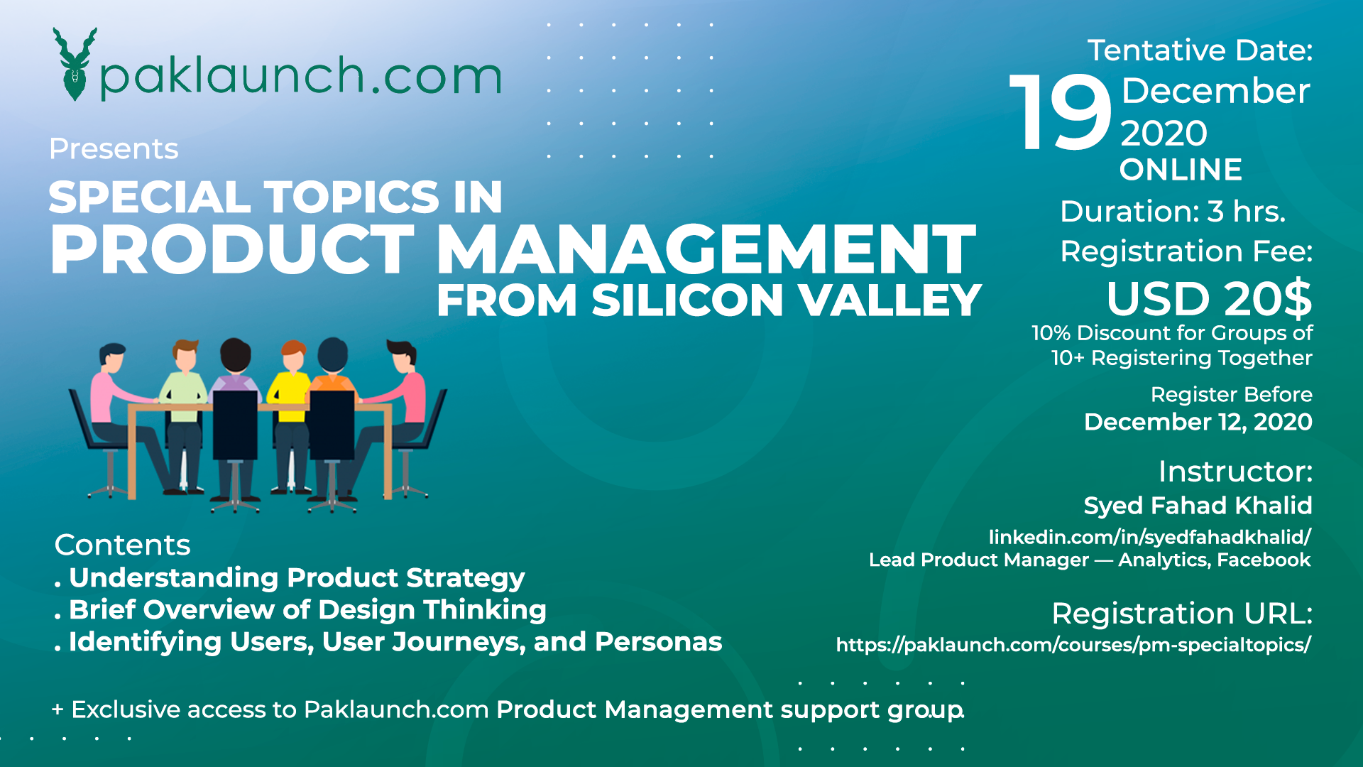 Special Topics in Product Management